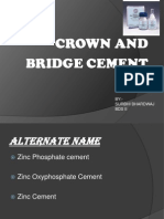 Crown & Bridge Cement