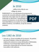 Ley 1382 de 2010
