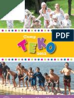 Camp TEKO - 2012 - Brochure