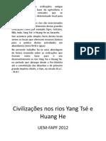 Rios Yang Tse e Huang He