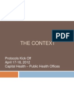 janets presentation on context for protocols kick off