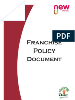 New U_Franchise Policy Document