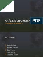 expo ANÁLISIS DISCRIMINANTE