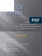 Mobile Voting Ppt