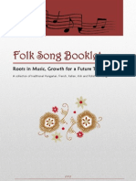 Folk Song Booklet