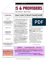 Payers & Providers Midwest Edition – Issue of May 1, 2012