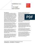 FactSheet Marijuana Regulation