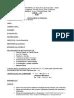 Check List - atualizado conforme reunião da CONEP nov de 2010[1]