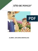 EL SUEÑO DE PONGO - FICHA DE LECTURA