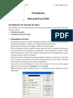 Formulario Excel 2003