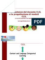 Le Competenze Del Docente CLIL