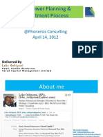 Manpower Planning & Recruitment Process Slides_ Leke Oshiyemi_ 14 April 2012
