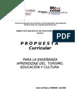 Diseño Curr_TURISMO