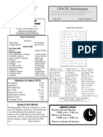 Adult Newsletter May 2012