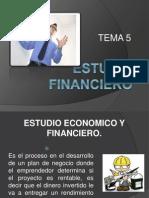 TEMA 5. ESTUDIO FINANCIERO