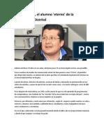Julio Sánchez, el alumno 'eterno' de la Universidad Distrital