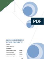 Labo1 Equipos Electricos de Uso Frecuente