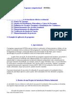 Apostila Programa Computacional INTERA