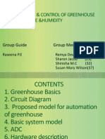 GREEN BEE-MONITORING AND CONTROLLING OF GREENHOUSE ENVIRONMENT