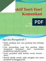 Perspektif Teori-Teori Komunikasi