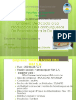 Hamburguer Fish