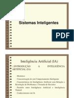 Sistemas Inteligentes - 1
