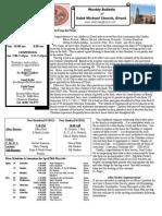 St. Michael's April 29, 2012 Bulletin