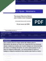 Presentacion de Ajuste