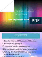 Primary School Standard Curriculum