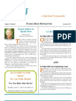 Flying High Newsletter May/Jun 2012 - Unity by The Shore, New Jersey