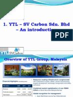 YTL -SV Carbon Introduction