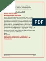 Nueva Ley Organica Del Trabajo Mayo 2012