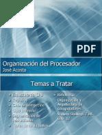Unidad 3 - 2 Organizacion Del Procesador