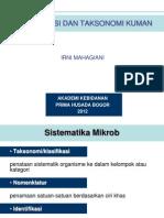 Klasifikasi Dan Taksonomi Kuman
