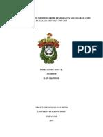ANALISIS FAKTOR YANG MEMPENGARUHI PENDAPATAN ASLI DAERAH (PAD) DI MAKASSAR TAHUN 1999-2009