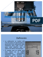 56590720 Calibracion Del Microscopio Optico