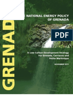 The National Energy Policy of Grenada, November 2011