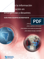 Gestion i c Emergencias Desastres OMS