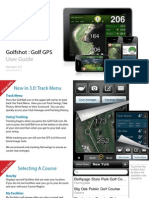 Golfshot Userguide