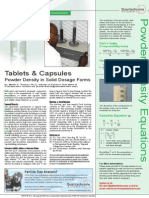 Tablets Capsules
