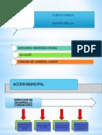PRESENTACIÓN Cuenta pública Gestión año 2011