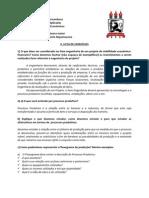 2ª Lista de Exercícios - Projetos - Economia UFPE (2012.1)