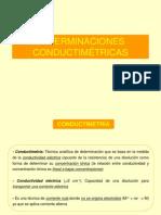 Clase 4.  Conductimetría Voltametria