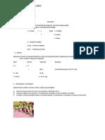 FICHA de TRABAJO Educacion Fisica 4to y 5 To