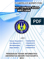 E1_Laporan 09_Lila Wijayanti S_Wireless Lynksys Cisco WRT120N