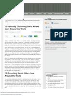 25 Seriously Disturbing Serial Killers