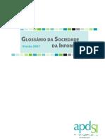 Glossário da Sociedade de Informação