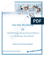 Kapgrow Workshop - Achieving Financial Prudence in Business Decisions