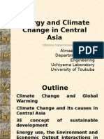Energy and Climate Change in Central Asia