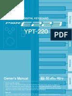 Ypt220 Manual